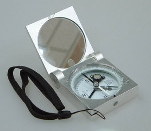 Silver Color Survey Instruments' Accessories Geology Metal Handheld Compass